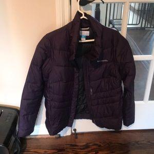 Columbia purple coat